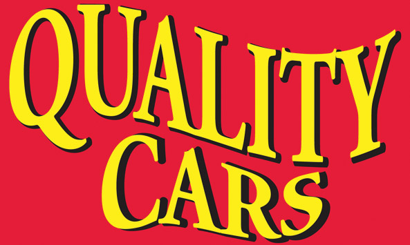 QUALITY CARS flag banner 3x5ft